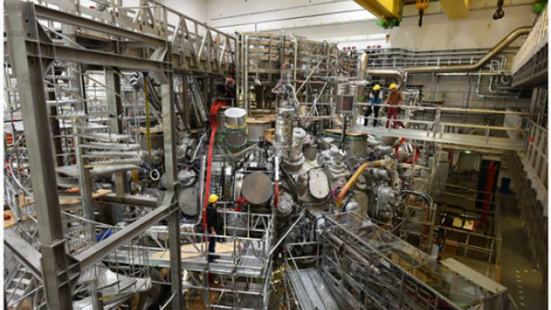 1067 Watch Germany Switch On Its Experimental Fusion Reactor LIVE