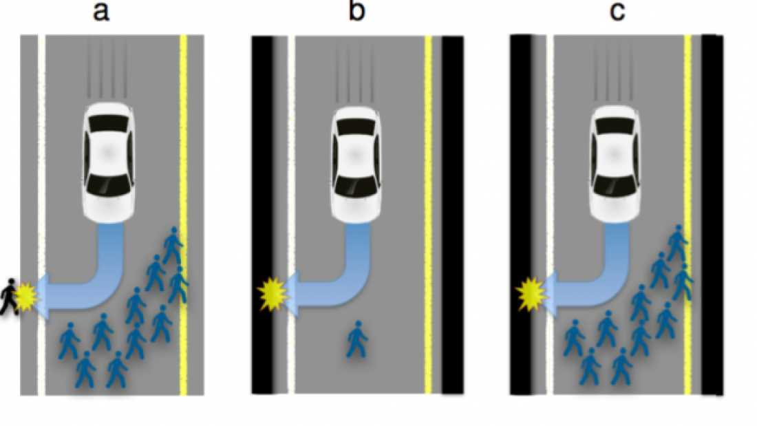 """3191 Should A Self-Driving Car Kill Its Passengers In A """"Greater Good"""" Scenario?"""