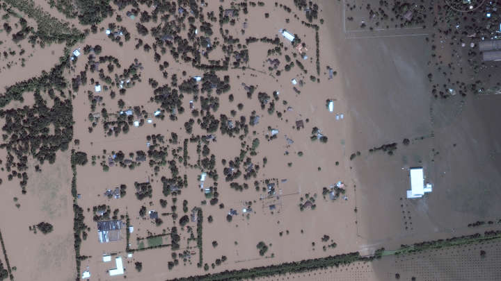 Incredible Before And After Satellite Images Reveal Scale