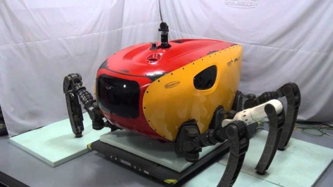 525 Robot Crab To Give You Nightmares