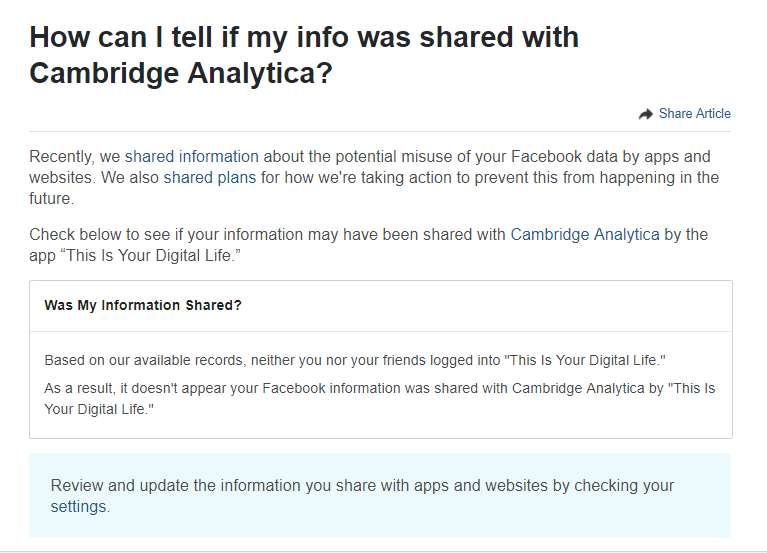 Cambridge Analytica-linked Kogan collected Facebook users' private messages
