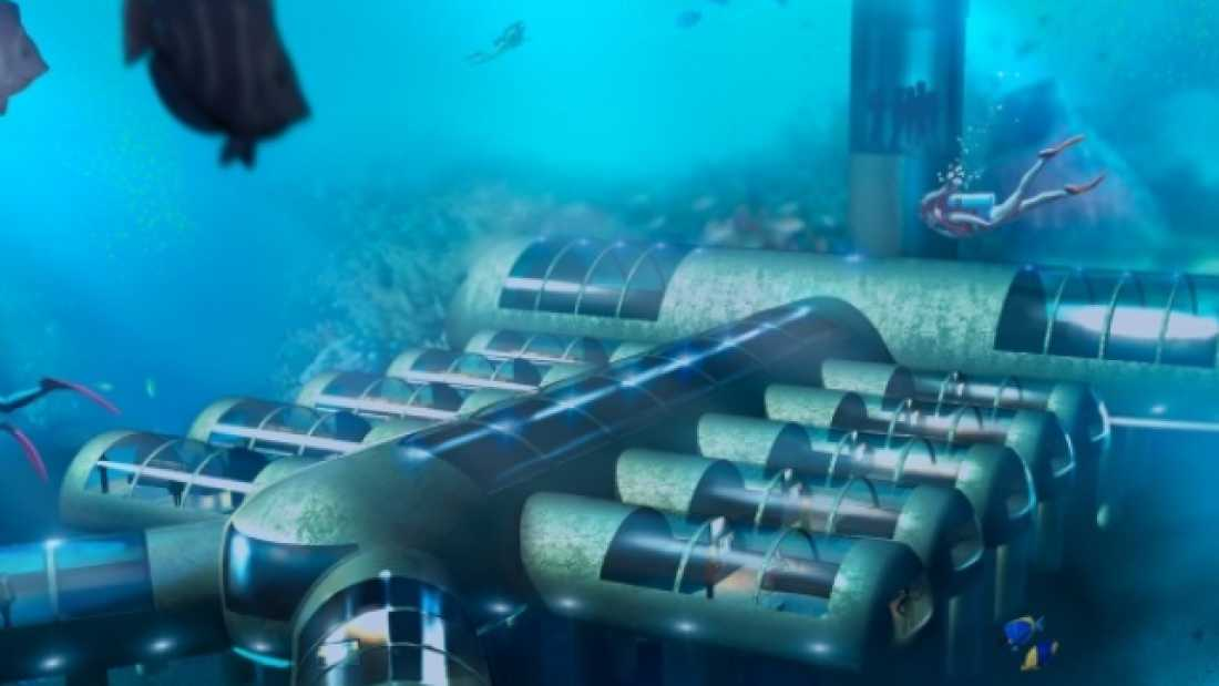 67 Underwater Hotel Receives Patent Approval