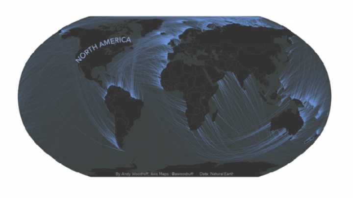 These Maps Reveal The Coasts You're Actually Facing When You Look Out To Sea