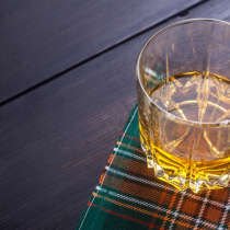 Scottish whiskies tend to have more of the flavor molecule that gives them their distinctive smoky taste.