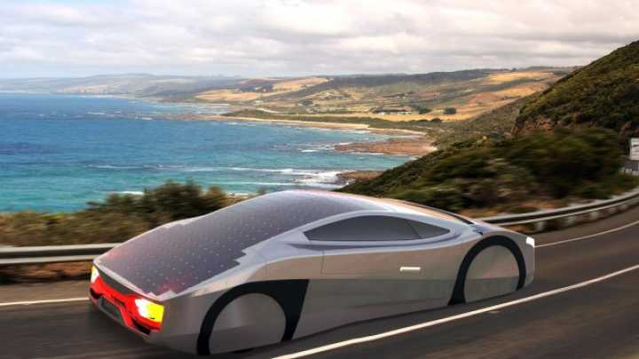 The Worldu0027s First Solar Powered Sports Car Could Drive Forever | IFLScience