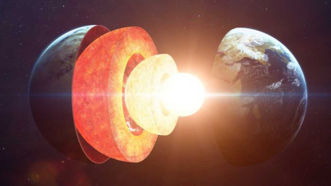earth s core is two years younger than its crust thanks to