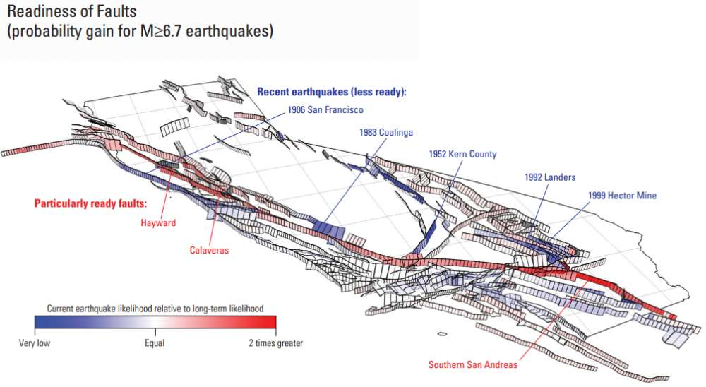 "The Entire San Andreas Fault Could Rupture During The ""Big ..."