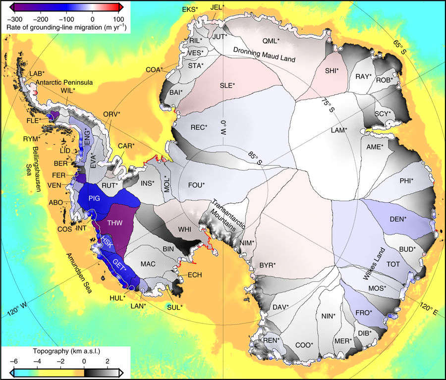 Antarctic ice area 'the size of London' lost in six years
