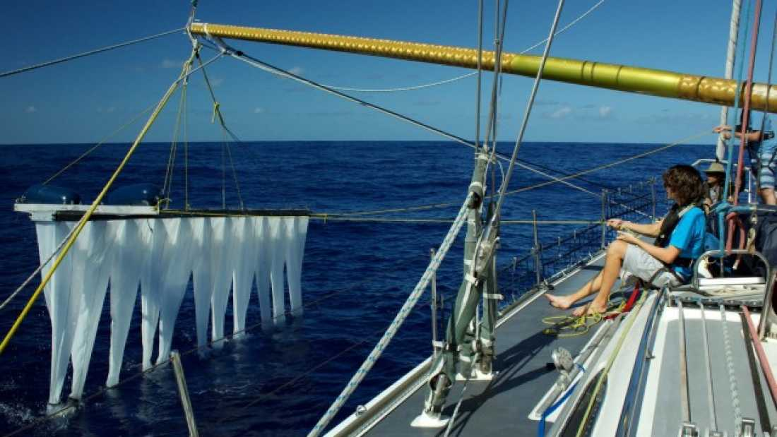 1124 19 Year Old Develops Machine To Clean The Oceans Of Plastic