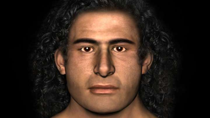 Facial characteristics of ancient greeks