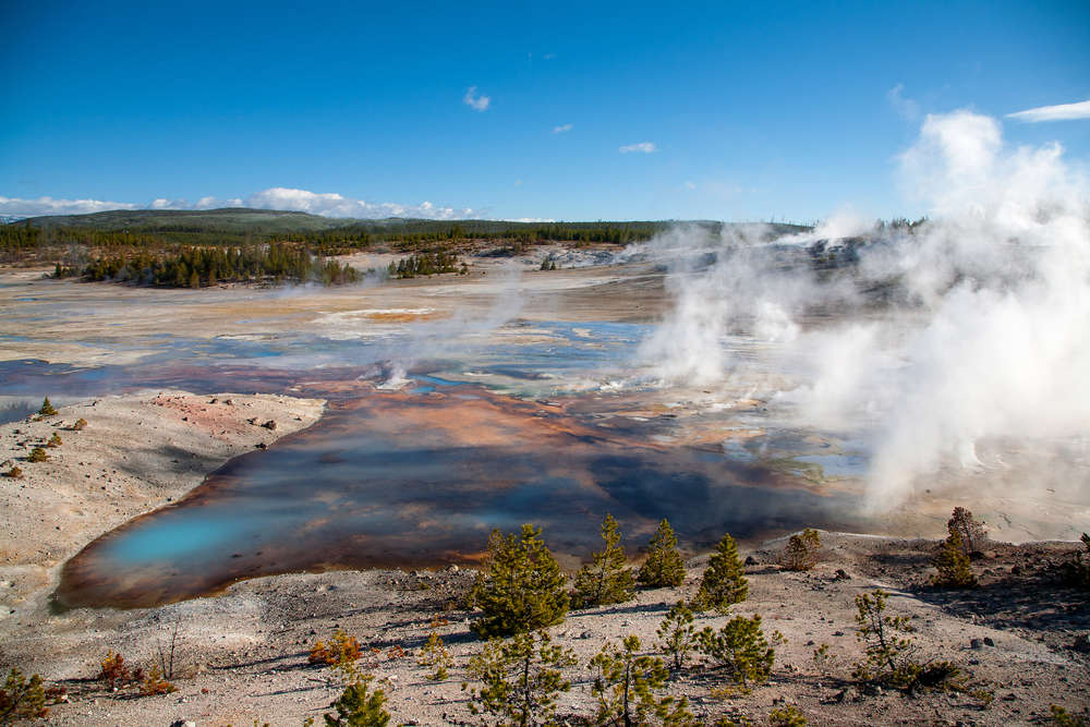 Yellowstone geyser erupts for 3rd time in 6 weeks