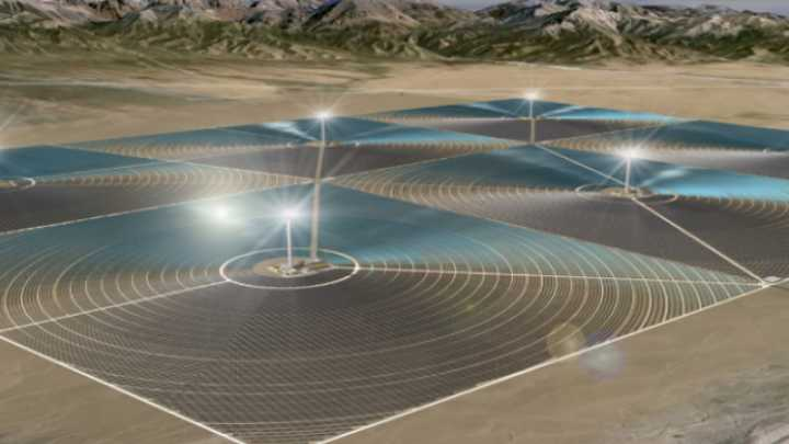 First Large Scale Solar Power To Be Built In China S Gobi