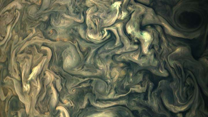 The Latest Images Of Jupiter From NASA's Juno Spacecraft Are Seriously Incredible