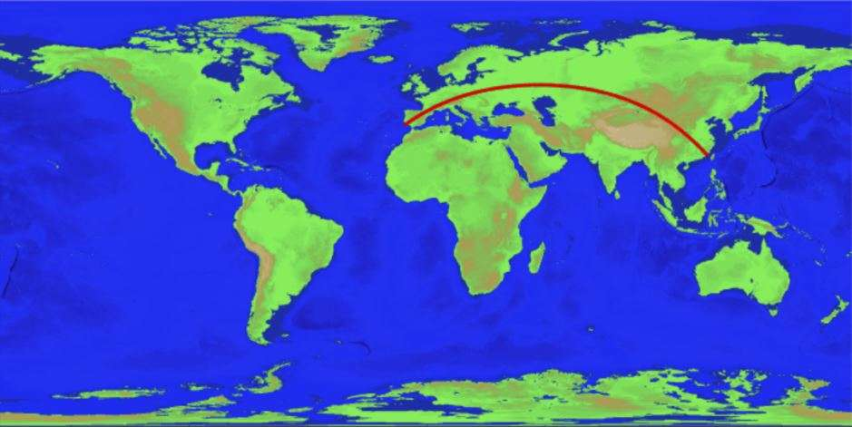 Researchers Say They've Found the Longest Straight Path by Sea on Earth