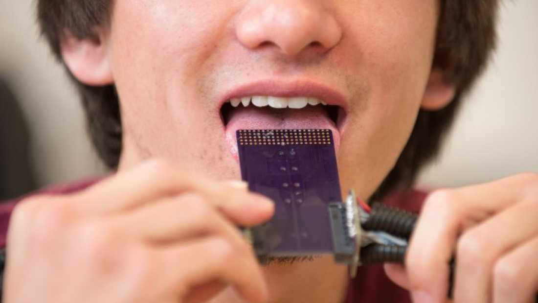 615 New Device Could Allow Deaf People To 'Hear' Through Their Tongues