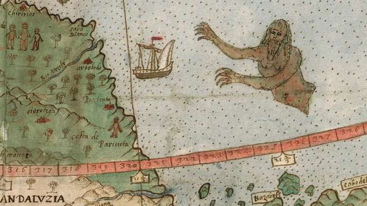 Experts restore largest known early world map complete with experts restore largest known early world map complete with unicorns lizard people and mermen iflscience gumiabroncs Gallery