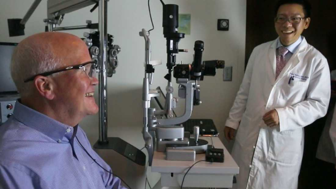 2386 Watch A Man See For The First Time In 33 Years, Thanks To His New Bionic Eye