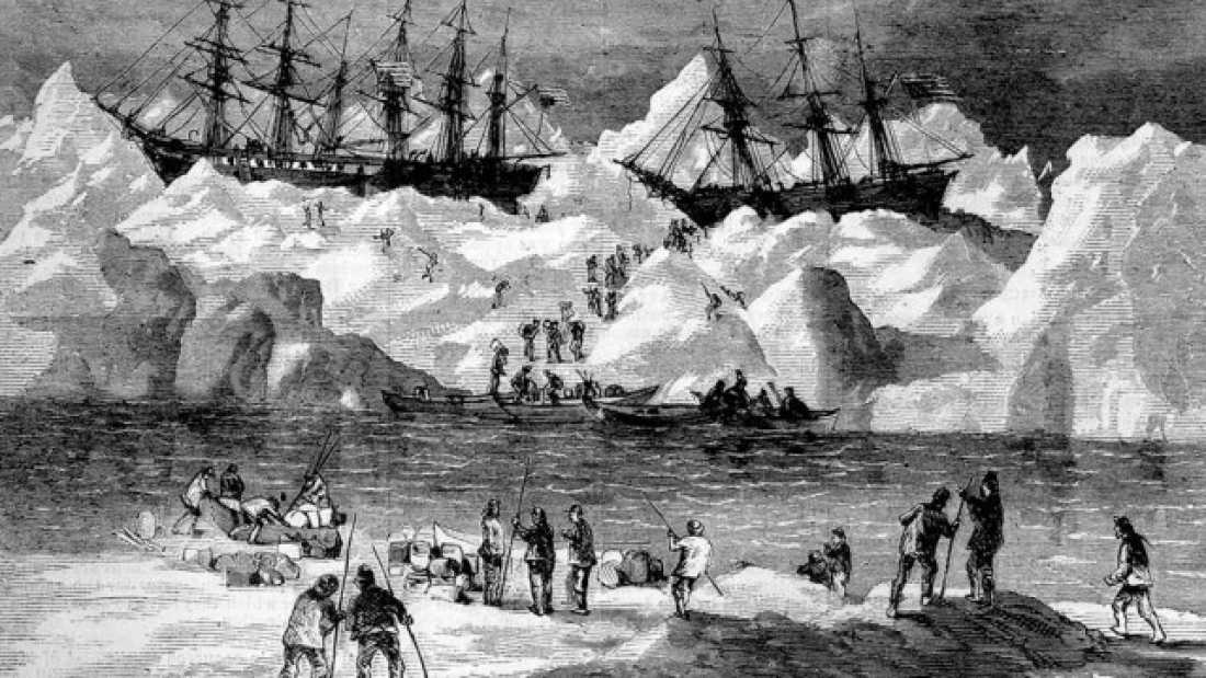 519 Wreckage Of Sunken Whaling Ships Discovered Off Alaskan Coast