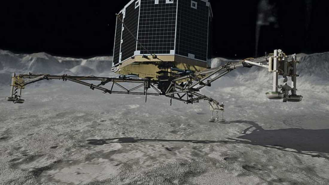 1301 Scientists Give Up Hope Of Contacting Philae Probe