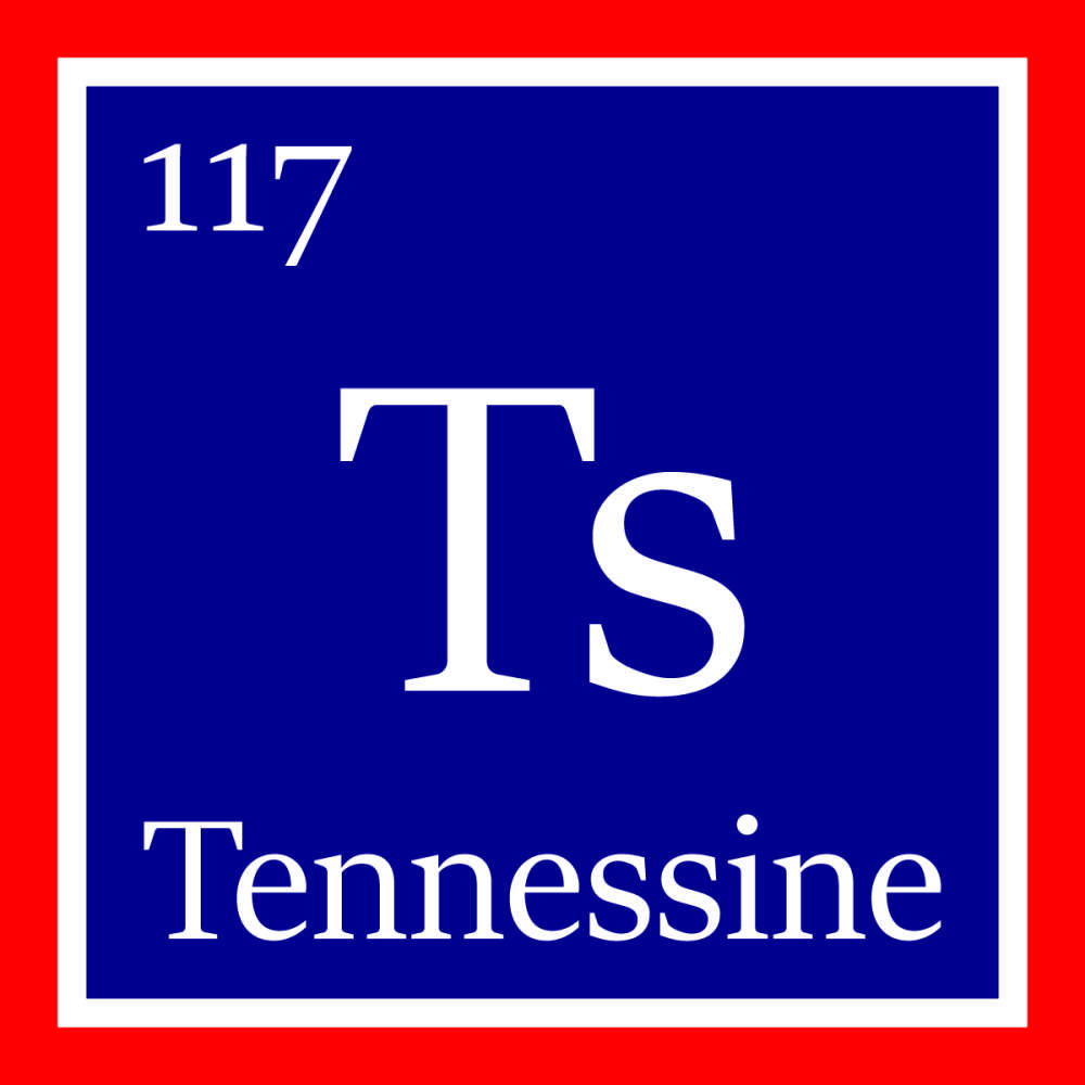 Element 117 has officially been named tennessine iflscience gamestrikefo Gallery