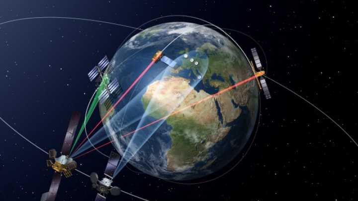 Europes New Space Laser Network Could Provide Almost RealTime - Real time satellite view of earth