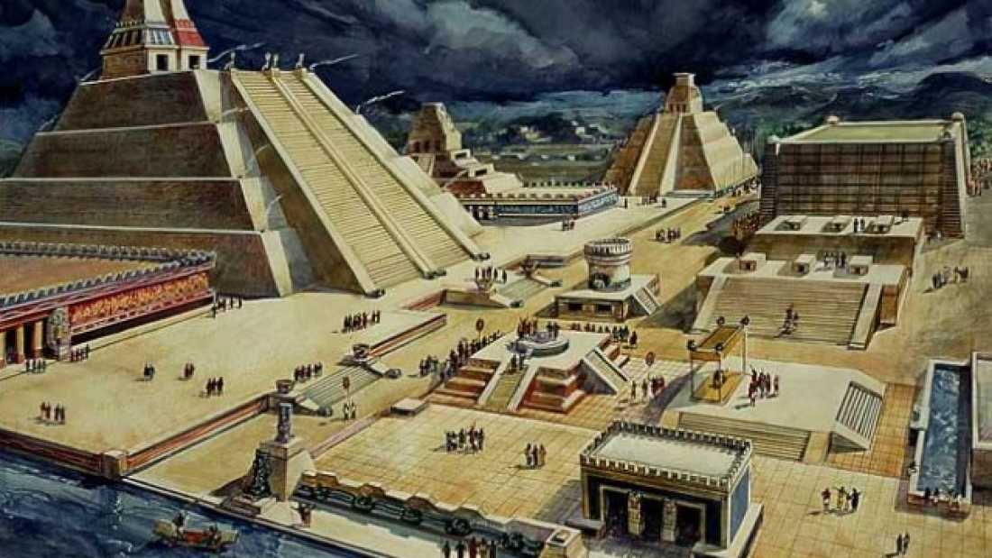 4121 Mysterious Sealed Chambers Discovered In Ancient Aztec Ruins