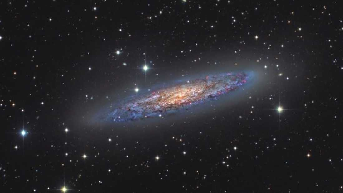 372 New Galaxy Discovered With Backyard Telescope