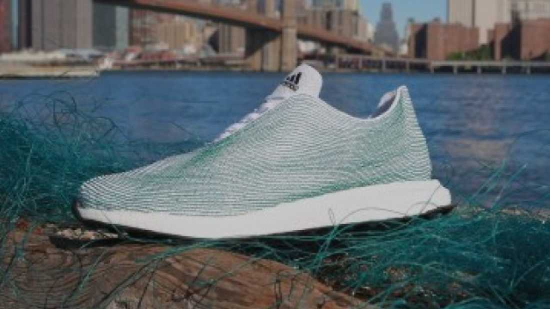906 Adidas Create a Shoe Made Almost Entirely From Ocean Garbage