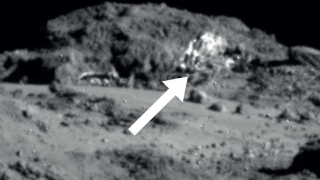 632 Water-Ice Found On Comet 67P's Surface