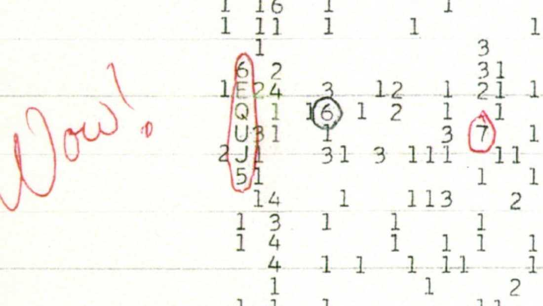 601 Scientist Claims To Have Figured Out What The Mysterious 'Wow!' Signal Was