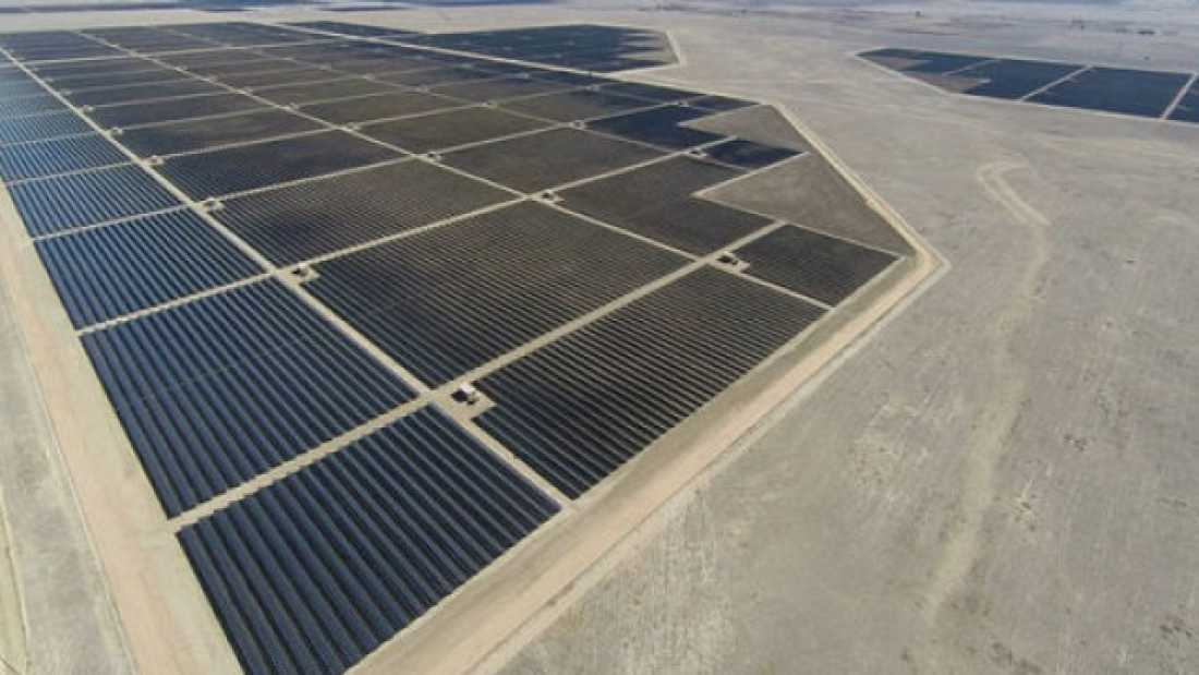 156 World's Largest Solar Farm Goes Online In California