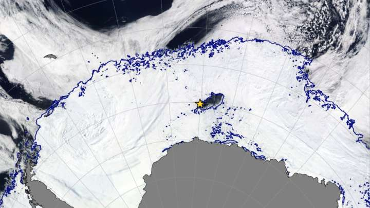 Image result for Maine-Sized Hole Appears In Antarctica, Disproving Previous Ideas About Climate Change