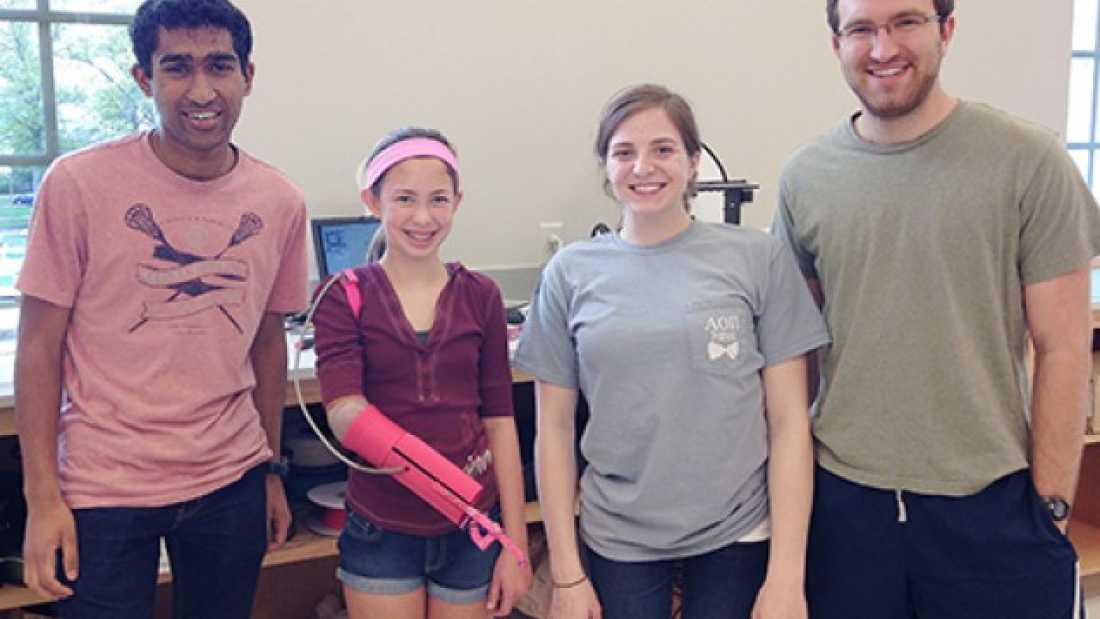 875 Students Use 3-D Printer To Produce Prosthetic Arm For $200