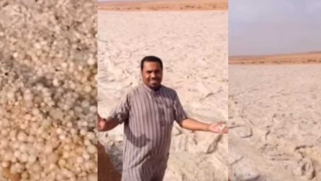 3886 What On Earth Is Going On In This Bizarre Video Of A Middle Eastern 'Sand River'?