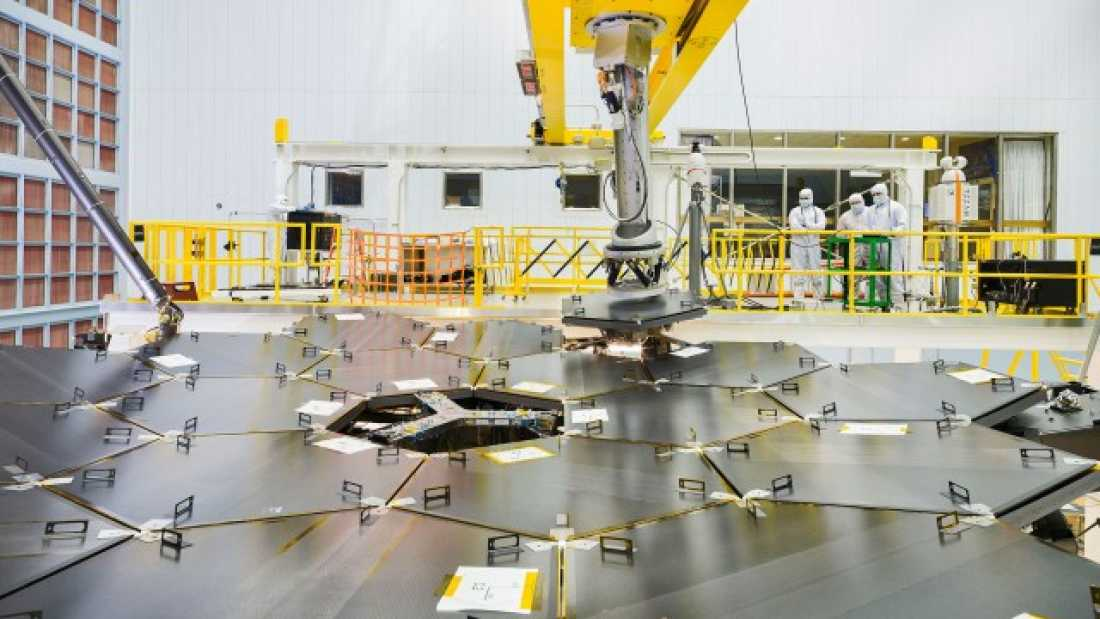1132 Primary Mirror Of NASA's James Webb Space Telescope Finally Completed