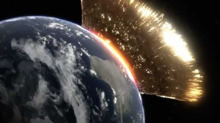 if it where it would fly by earth asteroid hit hit - photo #24