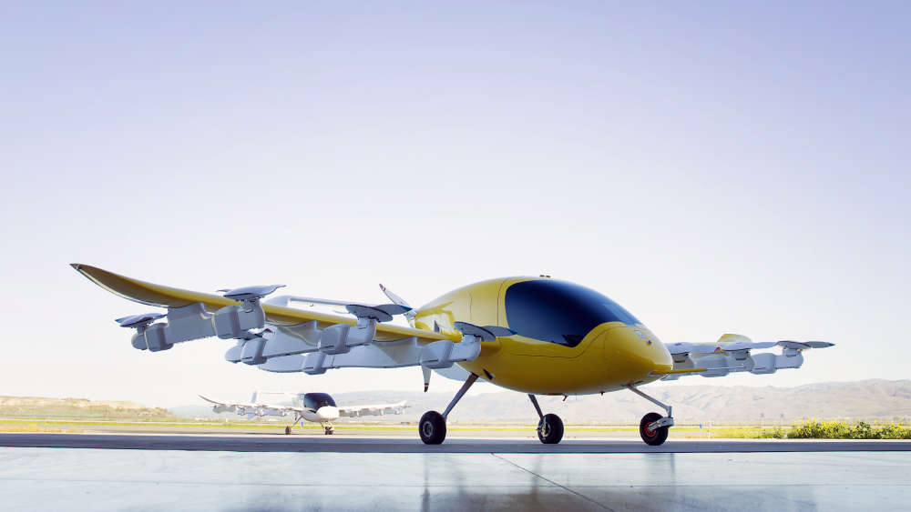 Larry Page-backed flying taxi start-up could beat Uber to the punch