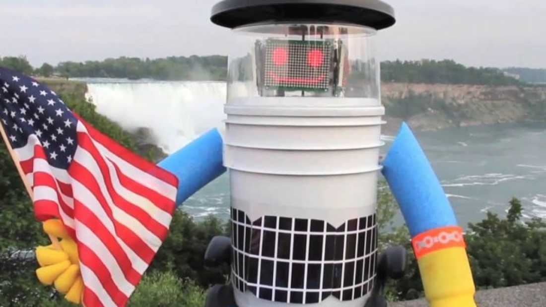 1501 Hitchhiking Robot Is Decapitated And Left In A Ditch After Just Two Weeks