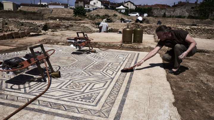 A 'Little Pompeii' Is Currently Being Excavated In France