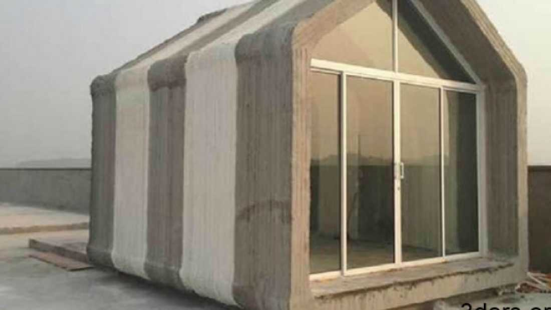 705 Using 3D Printers To Generate Villages Of Houses