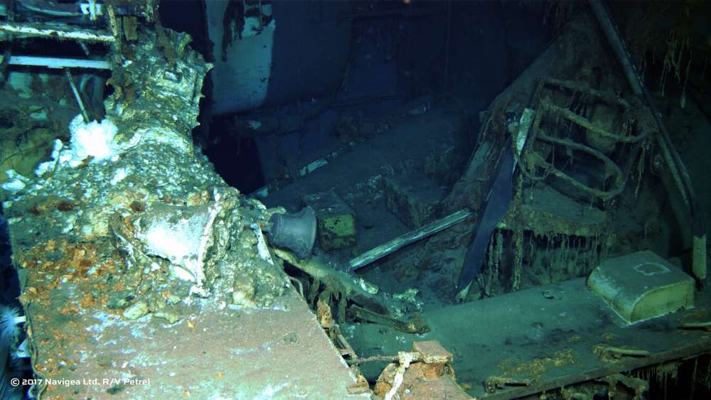USS Indianapolis found 13000 feet under the sea