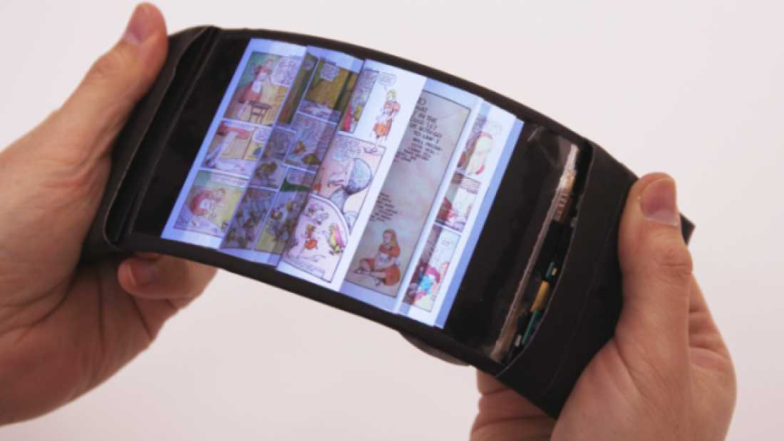 1447 Meet ReFlex, A Revolutionary Full-Color, High-Definition, Bendable Smartphone