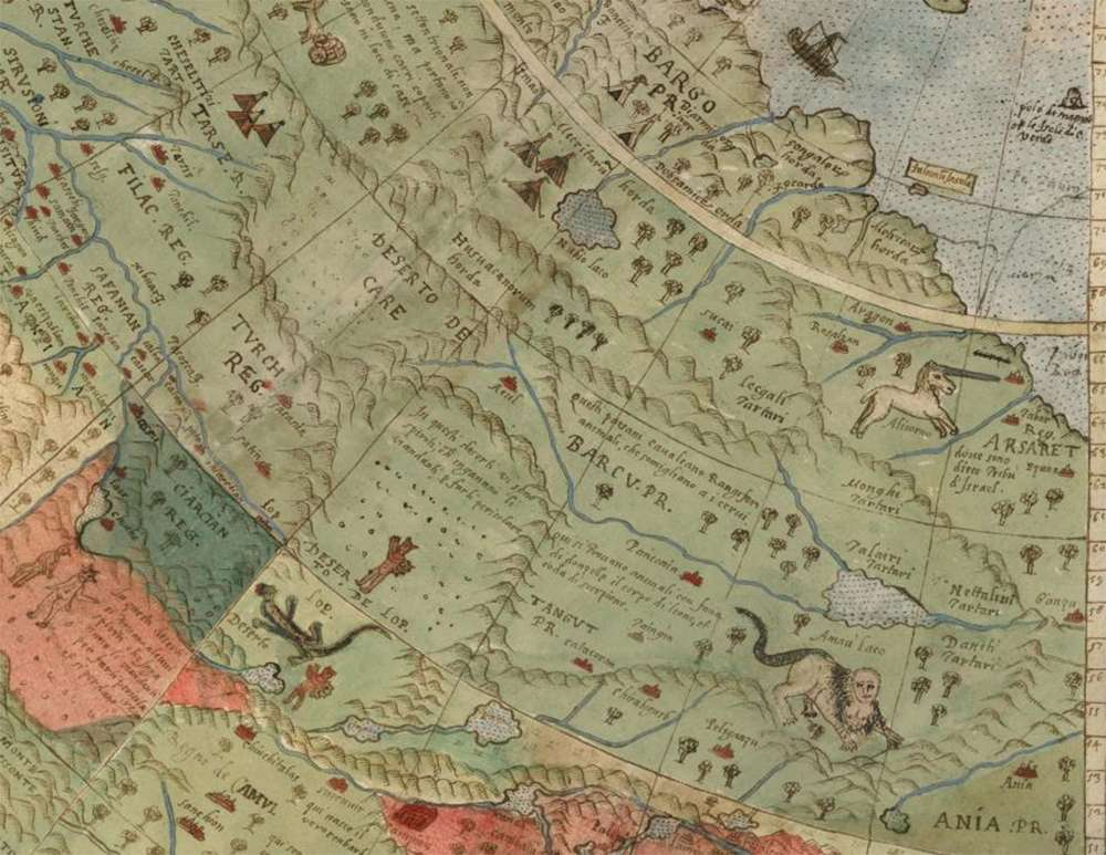 Experts Restore Largest Known Early World Map, Complete With Unicorns, Lizard People, And Mermen