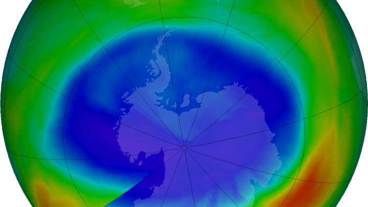 a research on the ozone of the earth