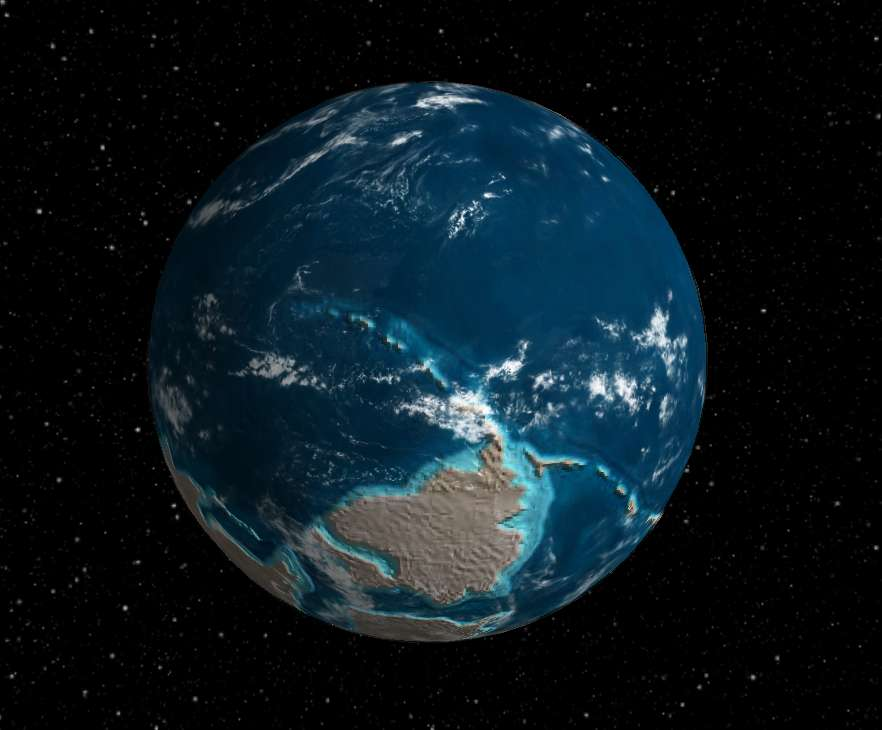 Interactive Globe Lets You See What The Earth Looked Like