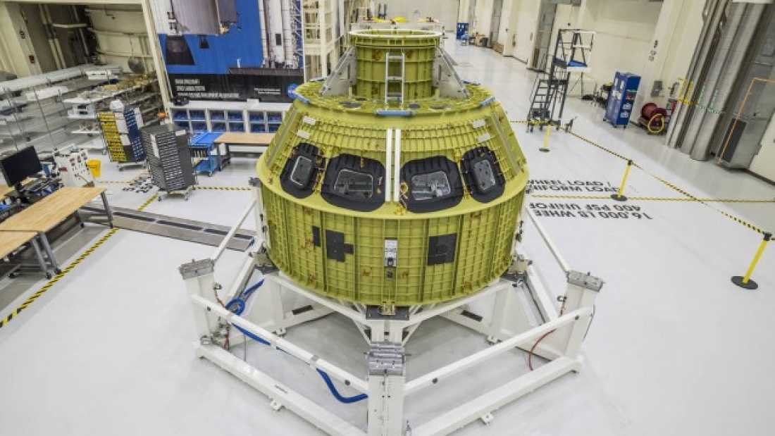 1159 NASA's Orion Spacecraft Prepares For First Launch In 2018