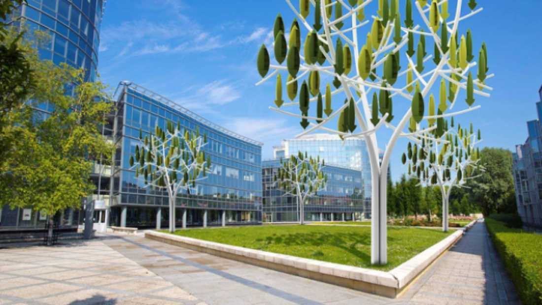 529 New Wind Turbine That Looks Like A Tree Is Coming To Paris