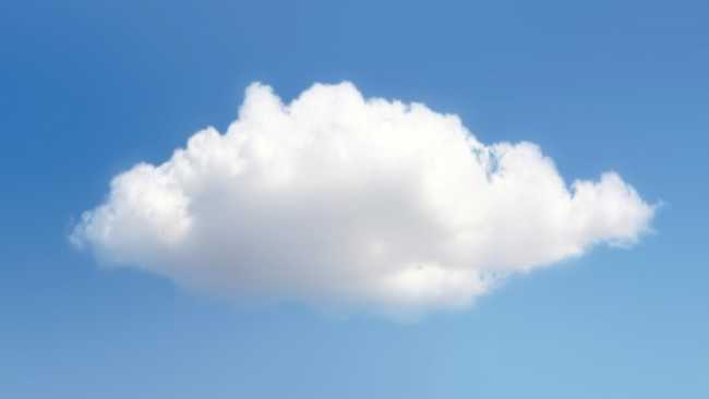 How could you describe a cloud?
