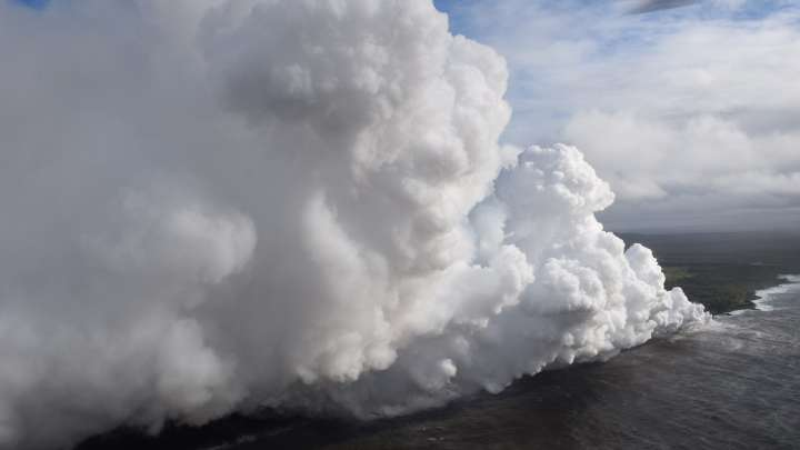 What The Hell Is 'Laze', A Hazard Of The Ongoing Eruption On Hawaii?