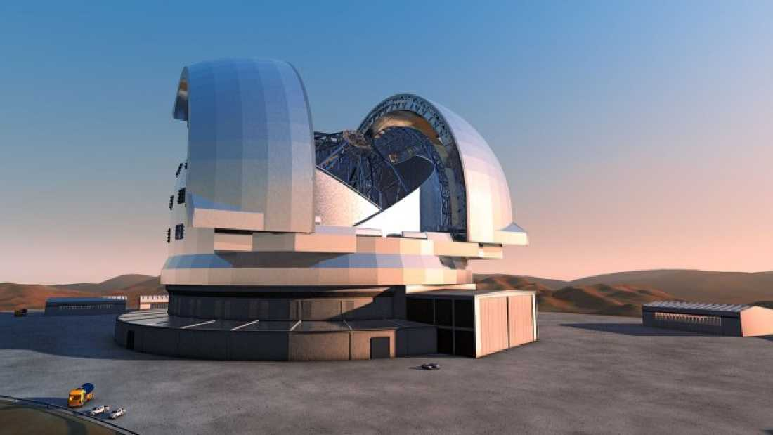 724 Coming Soon: A Telescope Large Enough to Spot Alien Life